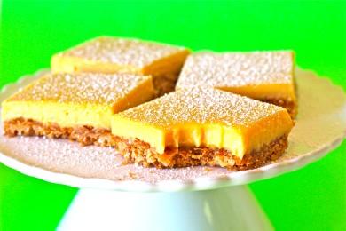 Рецепт Пирожные с кремом из текилы, кокоса и лайма