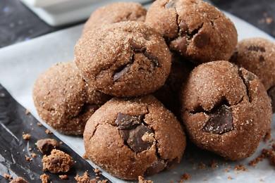 Рецепт Острое шоколадное печенье