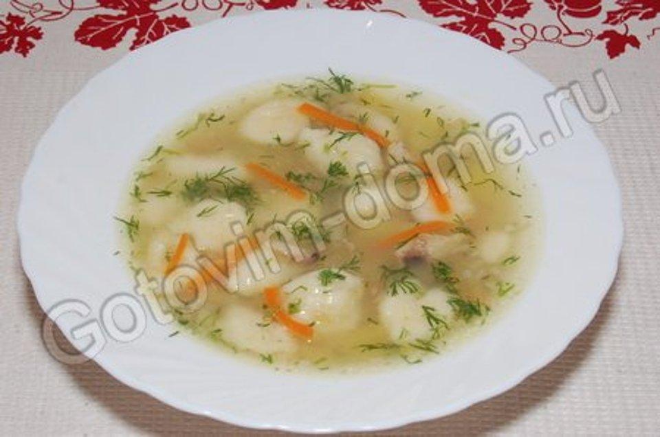 Суп с гречневыми клецками-кнопками, пошаговый рецепт с фото