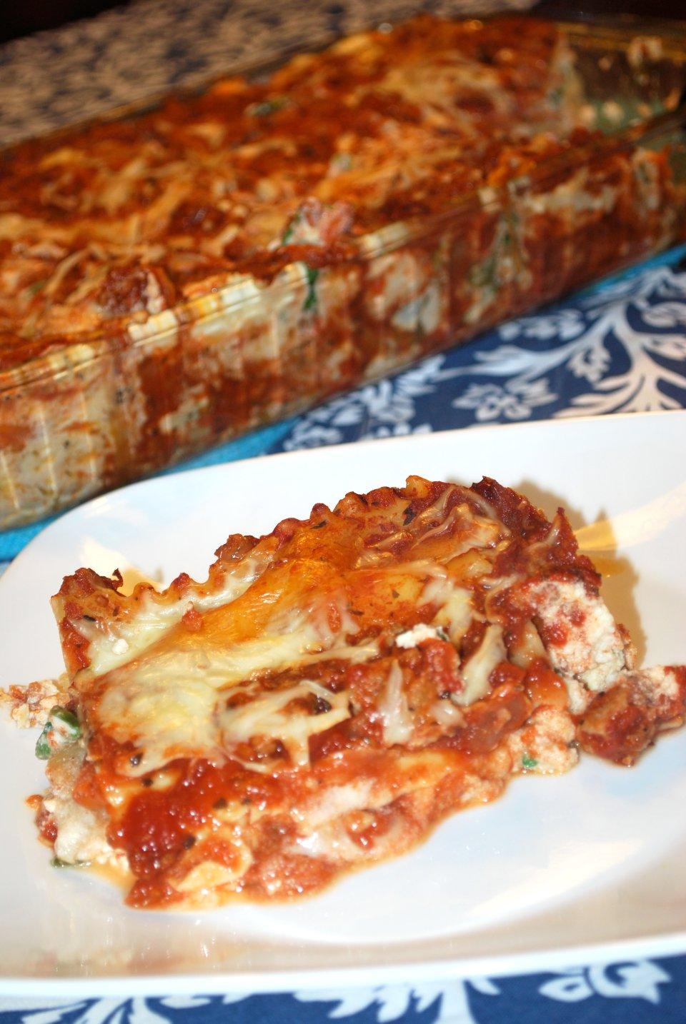 Лазанья с итальянской колбасой