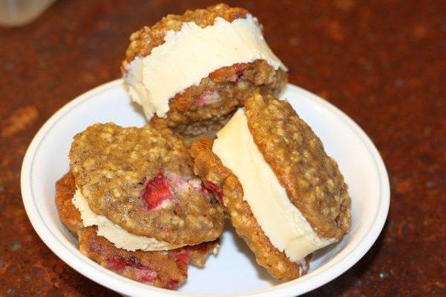Имбирное сэндвич печенье с мороженым рецепт