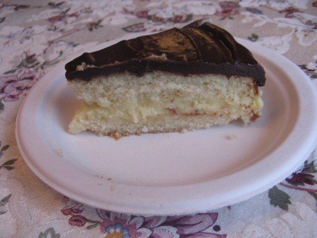 Бостонский пирог с кремом