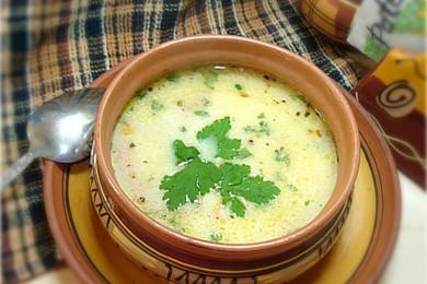 суп из плавленных сырков и колбасы рецепт