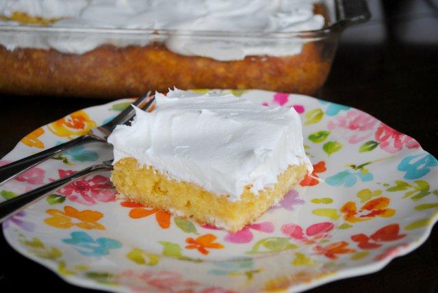 Лимонный торт-пудинг