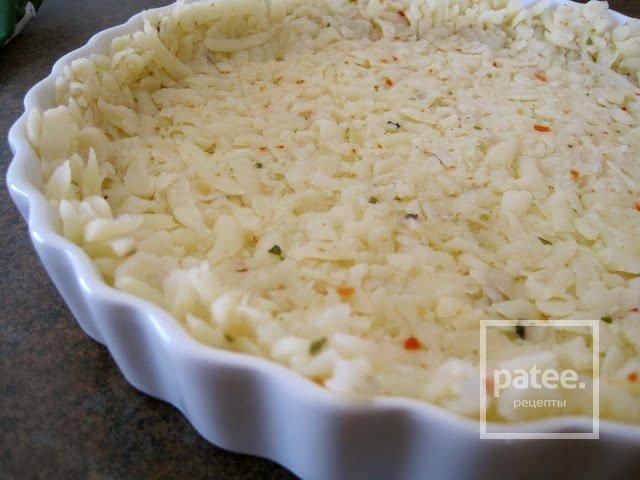 Картофельный пирог с кукурузной сальсой