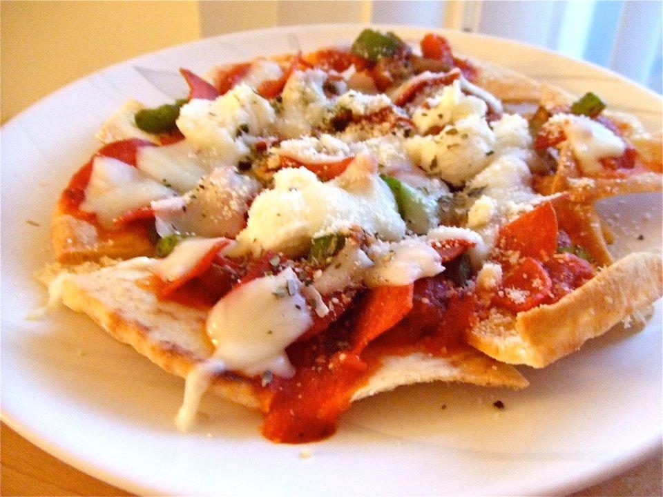 Пицца Начос с пепперони