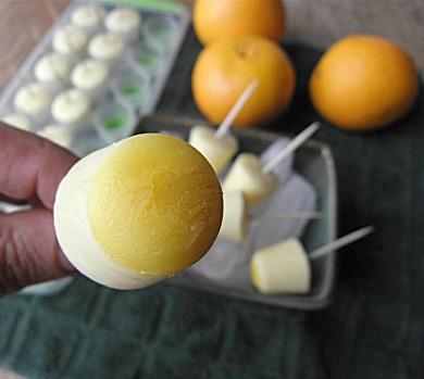 Рецепт Апельсиново-ванильные конфеты из йогурта и без сахара