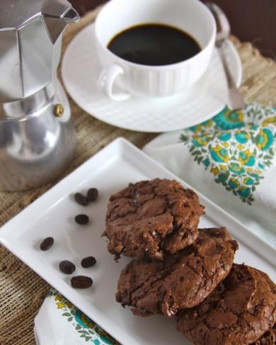 Рецепт Шоколадное печенье с эспрессо