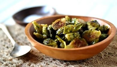 Рецепт Жаренная брюссельская капуста с сидровым соусом