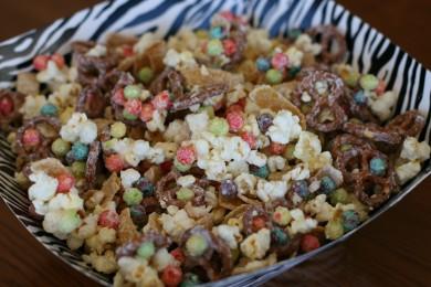 Рецепт Сладкий попкорн