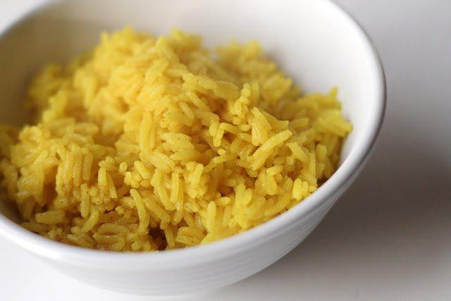 Золотистый жасминовый рис