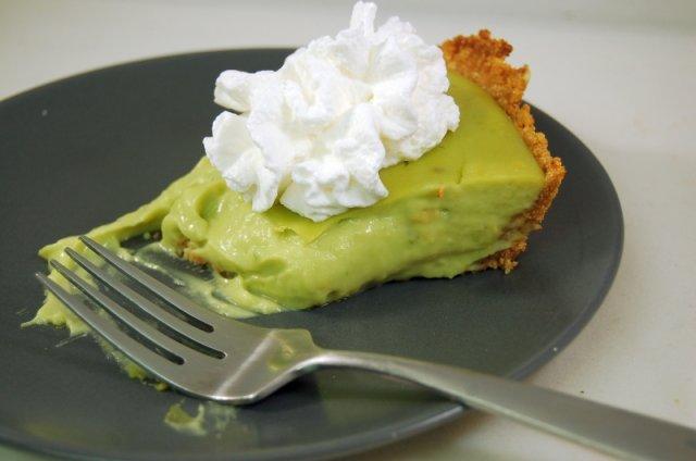 Пирог с авокадо