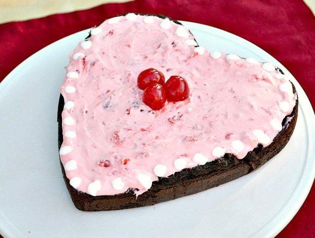 Шоколадно-фасолевый кекс