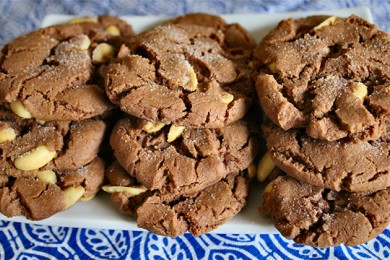 Рецепт Шоколадное печенье с арахисовым маслом