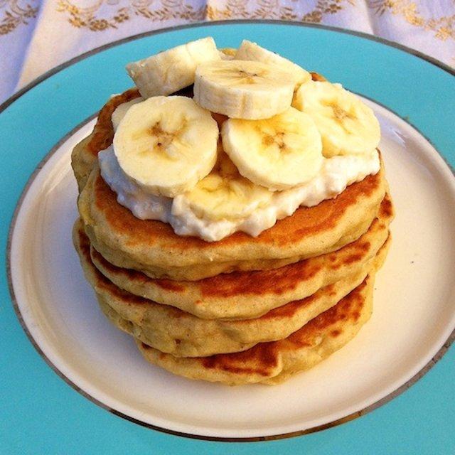 рецепт банановых блинчиков