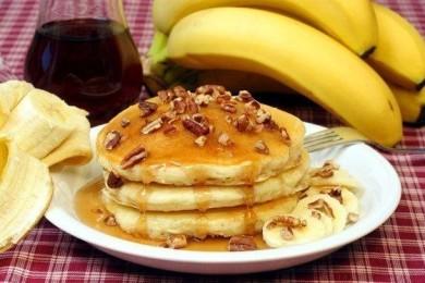 Рецепт Банановые оладьи