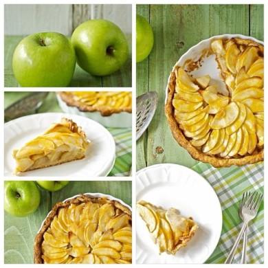 Рецепт Яблочно-банановый пирог