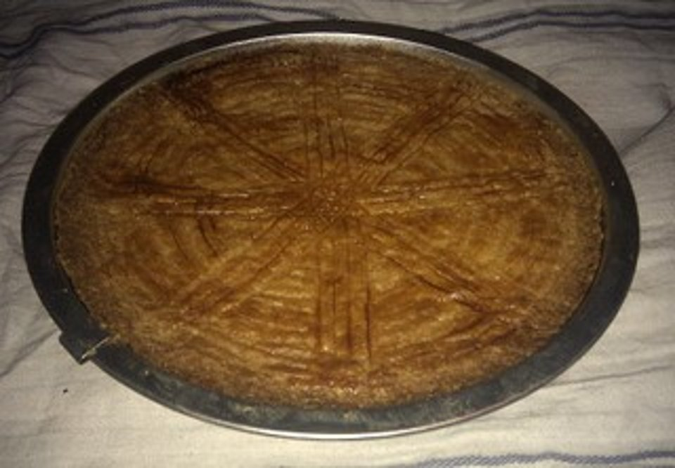 Голландский масляный пирог