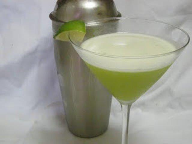 Лаймовый мартини