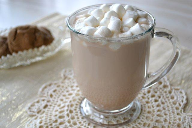 Горячий карамельный шоколад