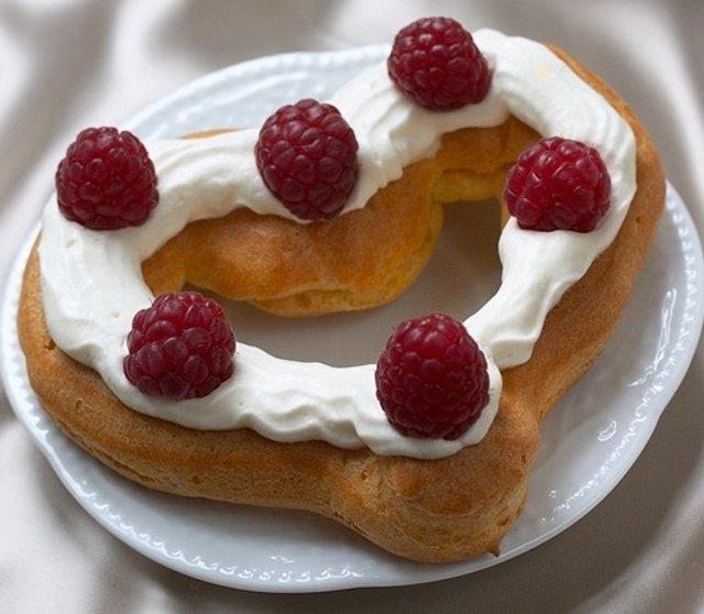 Заварное печенье Сердечки