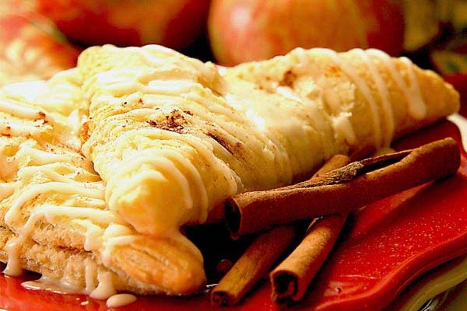Пирожки с яблоками и тыквой