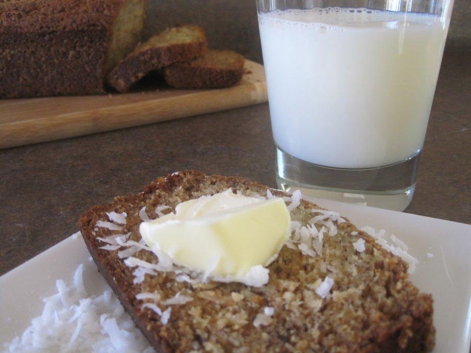 Бананово-кокосовый хлеб