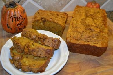Рецепт Тыквенный хлеб с яблоками