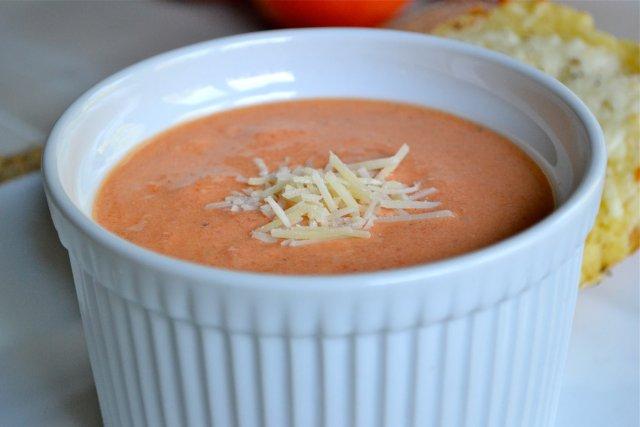 Рецепт супа пюре из помидоров