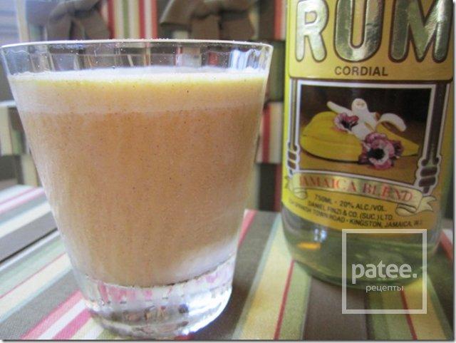 Молочный коктейль с тыквой