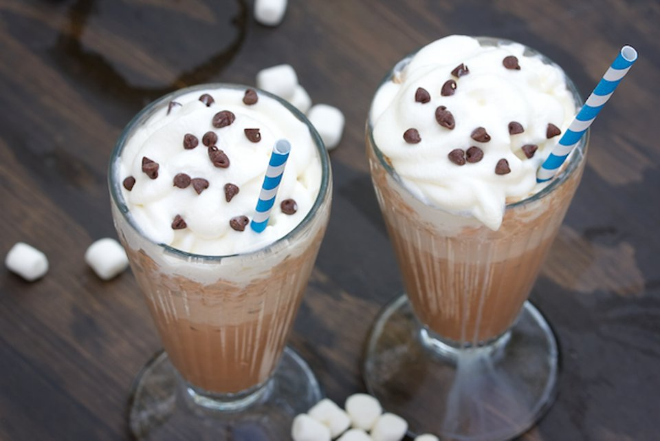 Морозный горячий шоколад