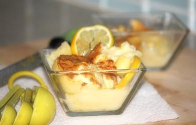 Рецепт Лимонный пудинг
