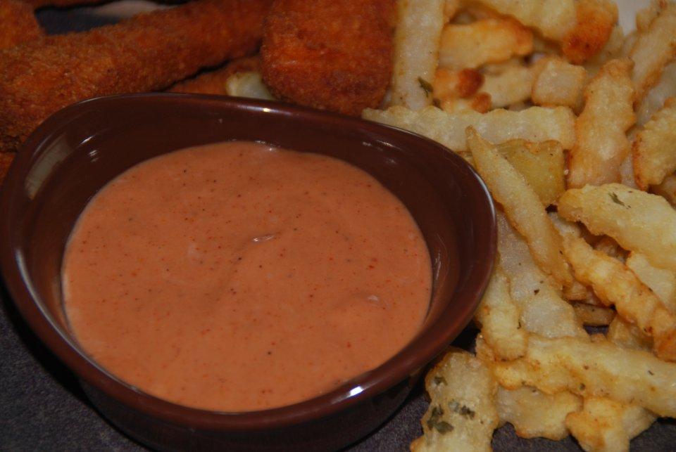 Соус для картофеля фри