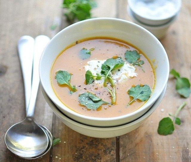 Суп из моркови со сладким картофелем - рецепт с фотографиями