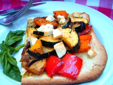 Рецепт Пицца с овощами