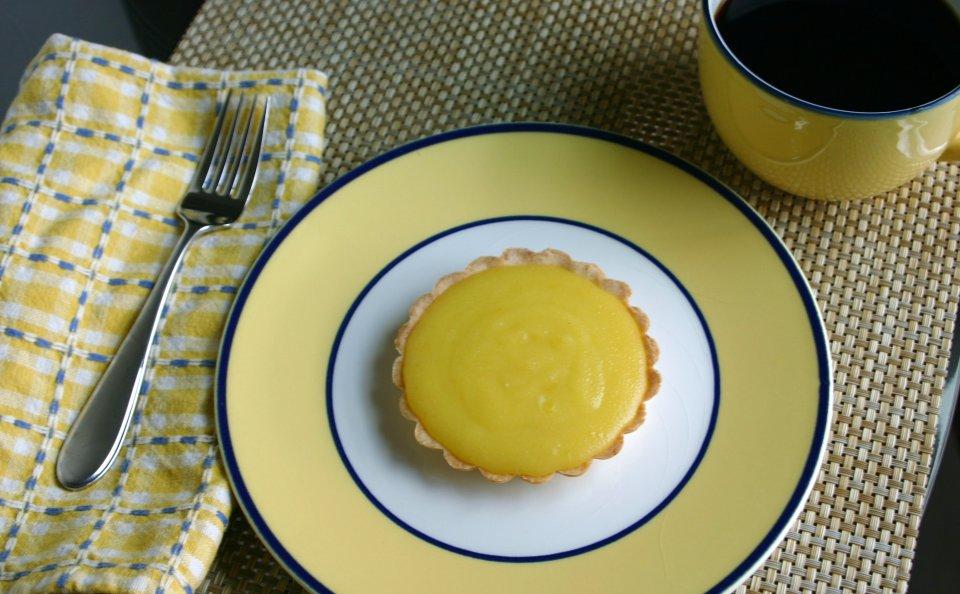 Лимонный тарт