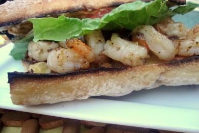 Рецепт Бутерброды с креветками