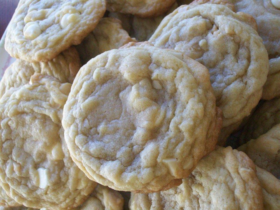 Печенье с шоколадом и макадамией