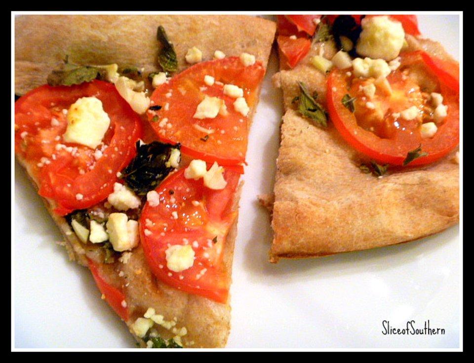 Пицца по-гречески