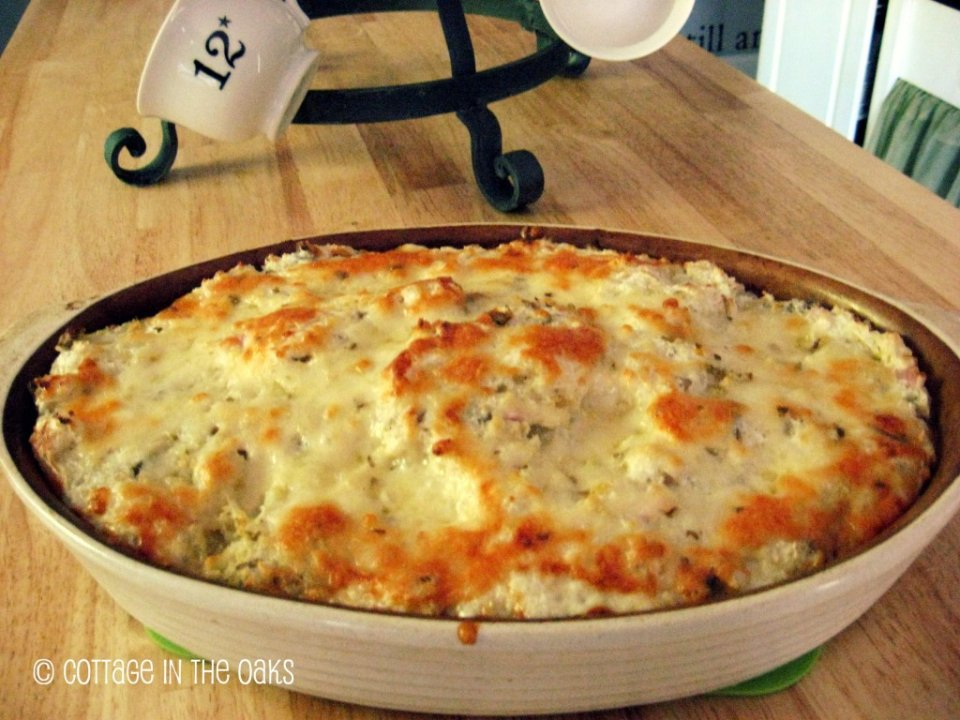 Гратин из картофеля с сыром