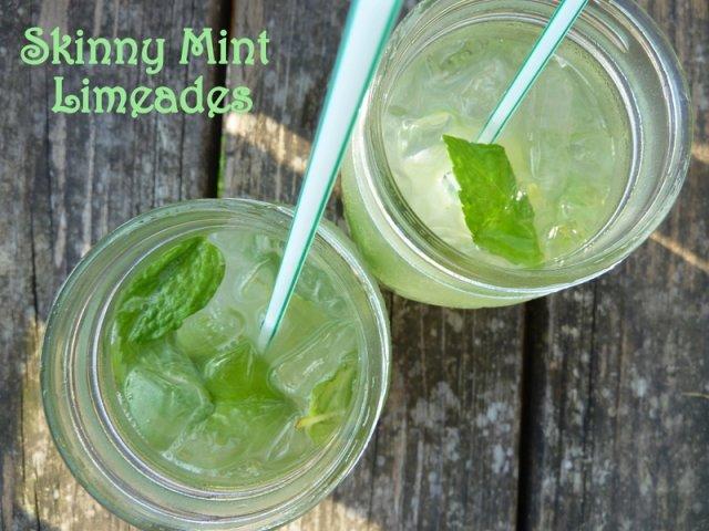 Лаймовый лимонад с мятой