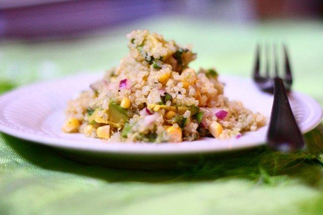 салат из киноа с кукурузой и авокадо рецепт с фотографиями Patee