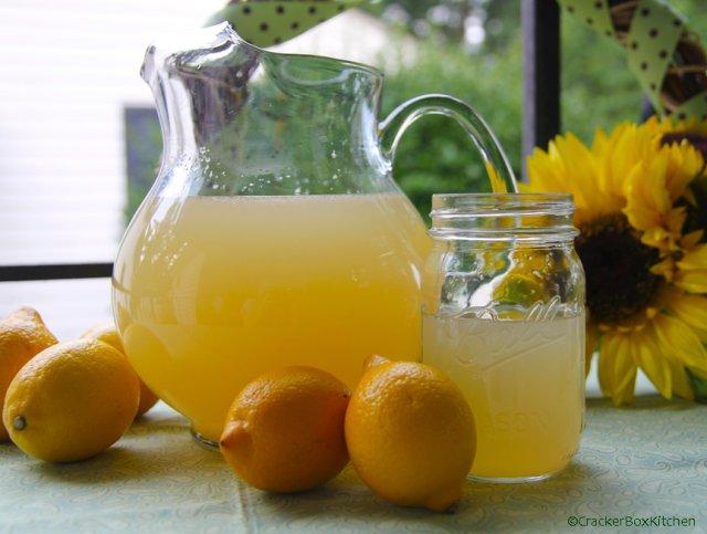 Ромашковый лимонад