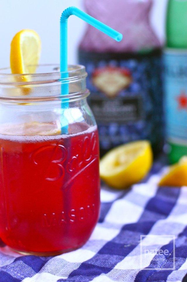 Черничный лимонад
