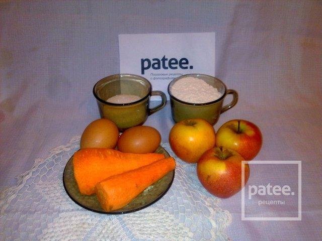 яблочно-морковные оладьи