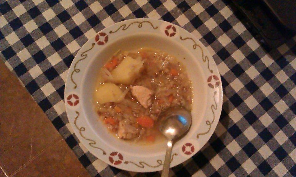 куриный суп с гречневой крупой