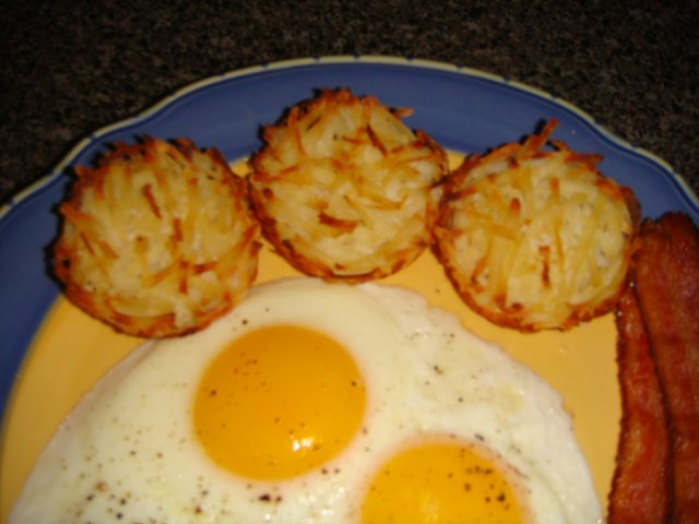 Картофельные оладьи