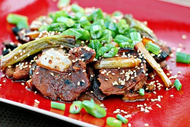 Корейский шашлык из свинины