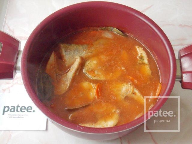 Судак в томатном соусе