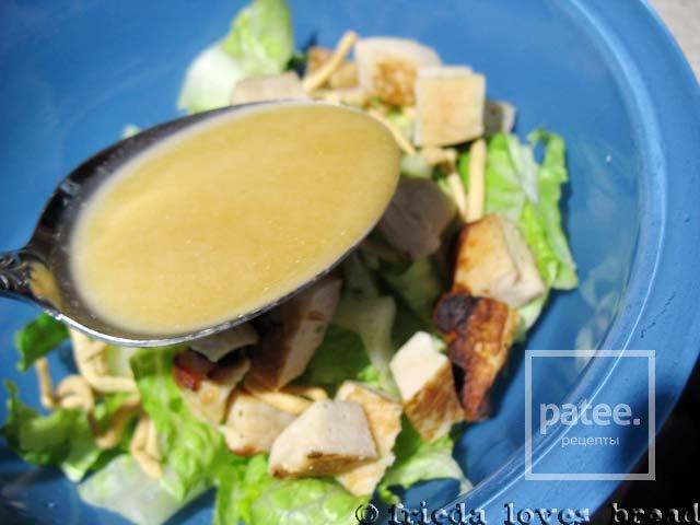 Имбирный соус для салата